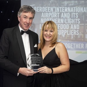 Working Together for Tourism Aberdeen Airport Northern Lights Lounge Partners